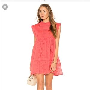 NWT Free people Nobody Like You Embroidered Dress